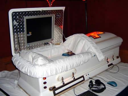 Coffin PC at QuakeCon 2005