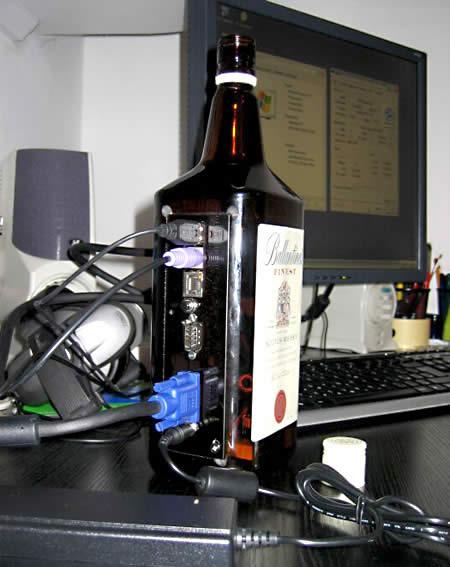Whiskey Bottle by Janos Marton