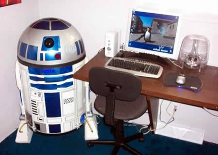 R2-D2 by Ken Kirby