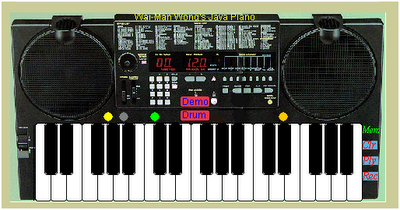 Play the piano online virtual piano java piano