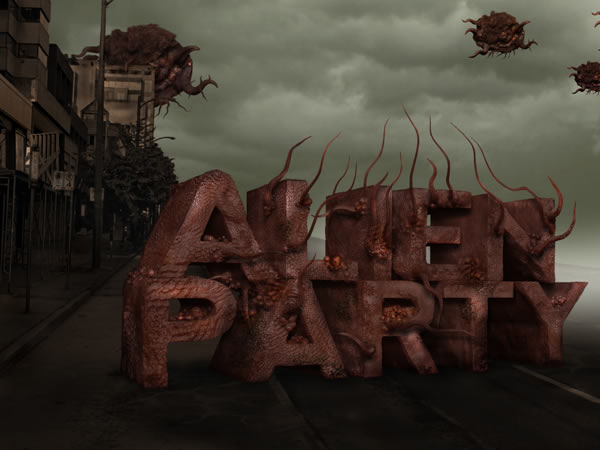 Alien-Party