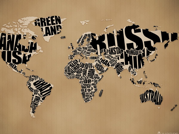 world-map-typography