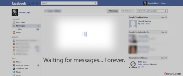 facebook messages inbox not loading