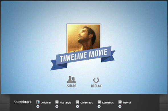 share your timeline video