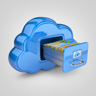Storing files in cloud